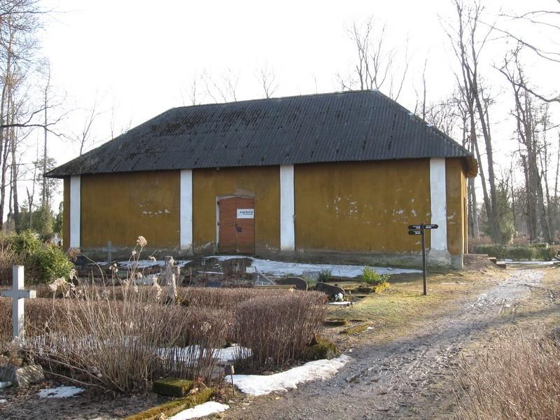 Jõhvi kalmistu kabel, 18.-19.saj.  Autor Tõnis Taavet  Kuupäev  06.04.2009