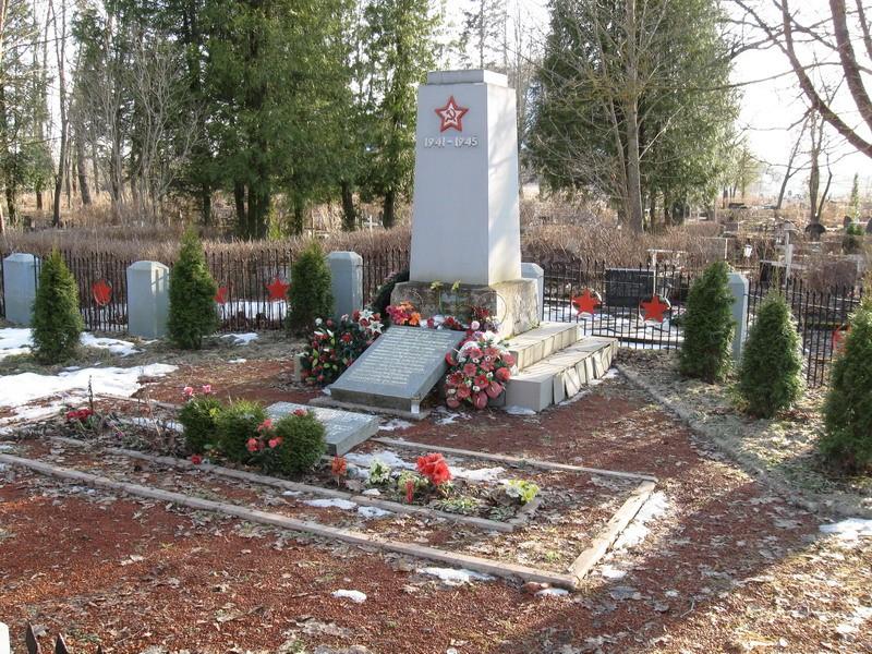 II Maailmasõjas hukkunute ühishaud  Autor Tõnis Taavet  Kuupäev  06.04.2009