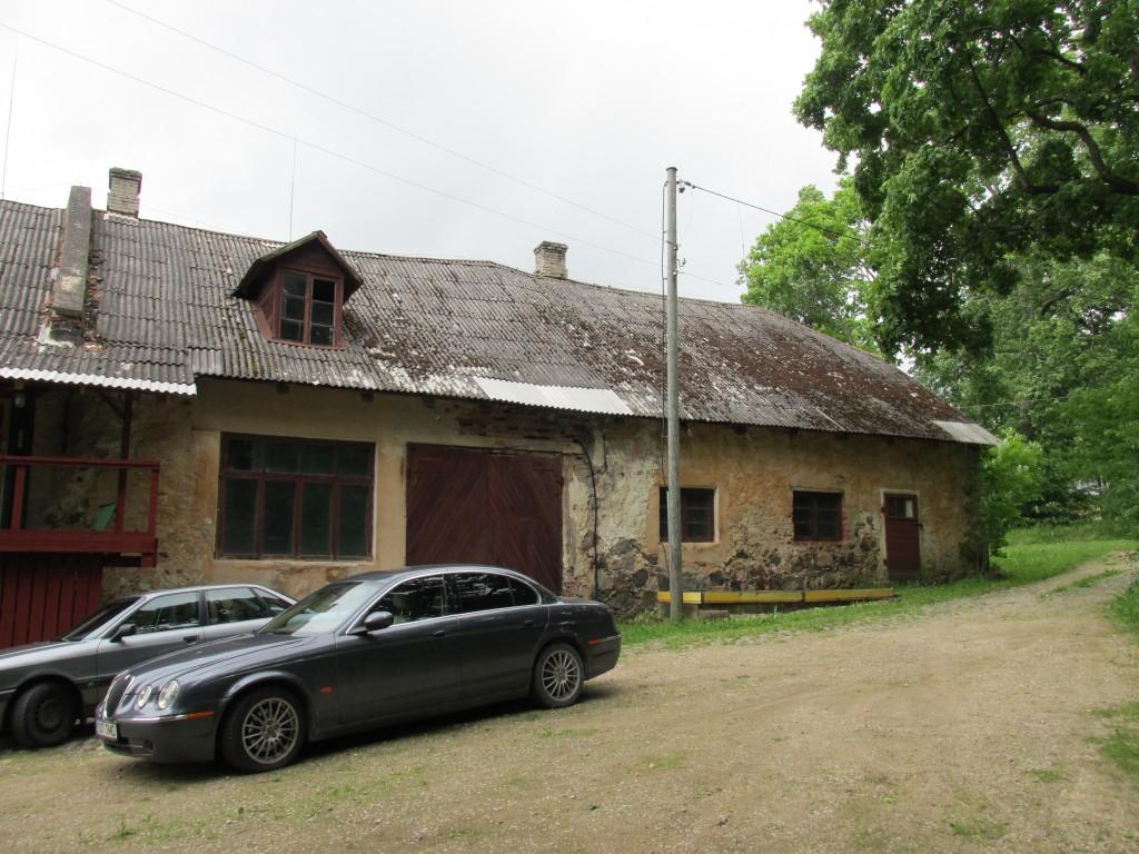Väimela mõisa puutöökoda. Foto Mirja Ots. 20.06.2017