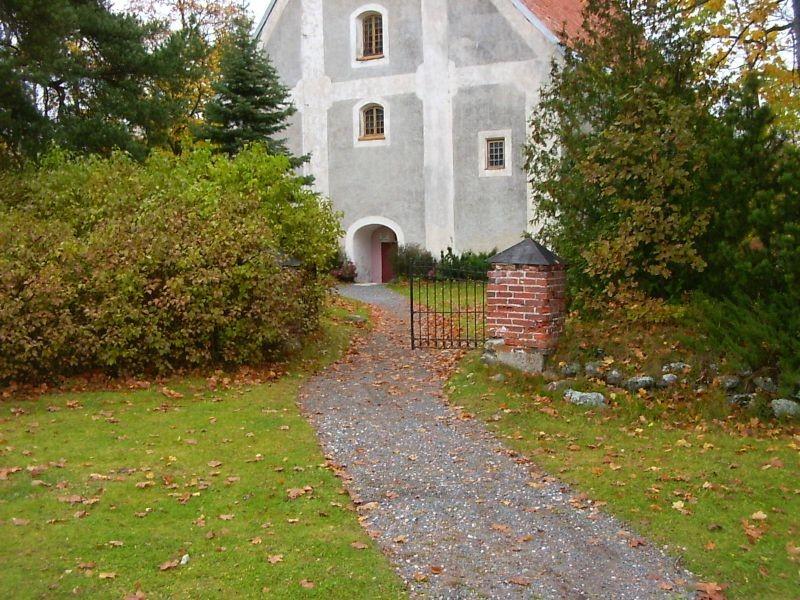 Kirikuaia värav    Autor Tarvi Sits    Kuupäev  20.10.2004