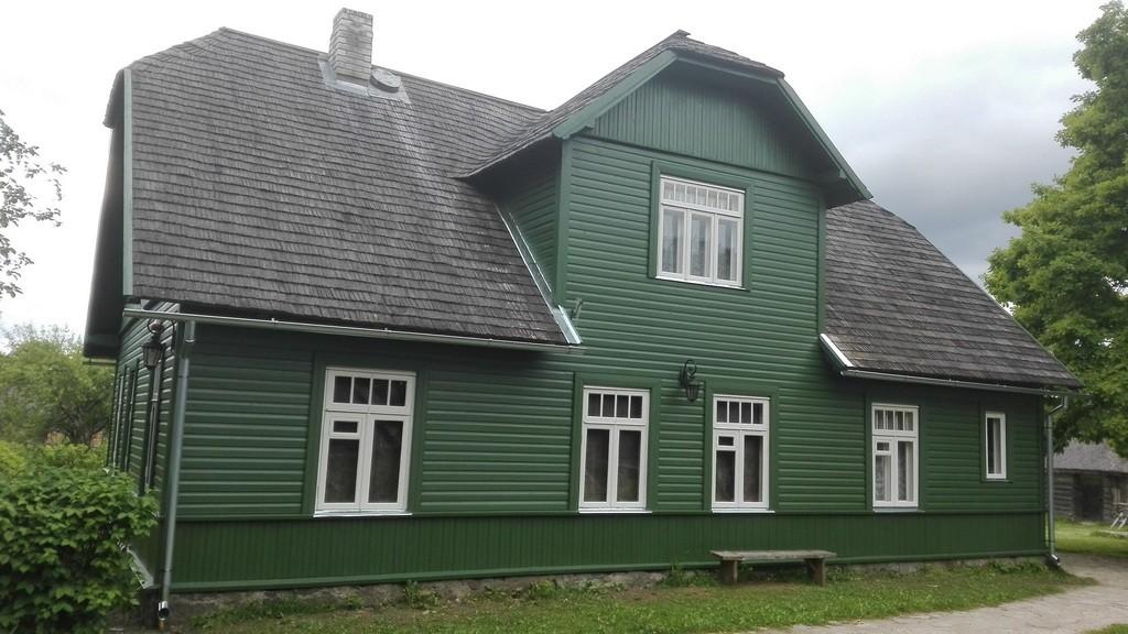 Tammsaare Põhja talu elumaja, vaade põhjasuunast. Foto: K. Klandorf 10.07.2017.