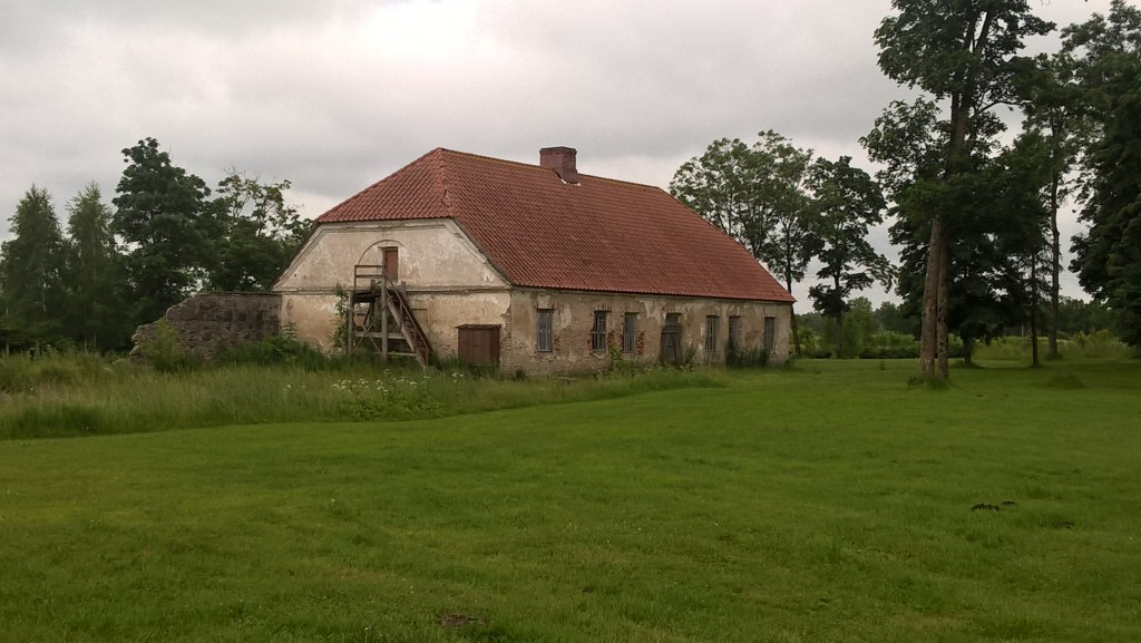 Malla mõisa teenijatemaja 12.07.2017. P.Nork