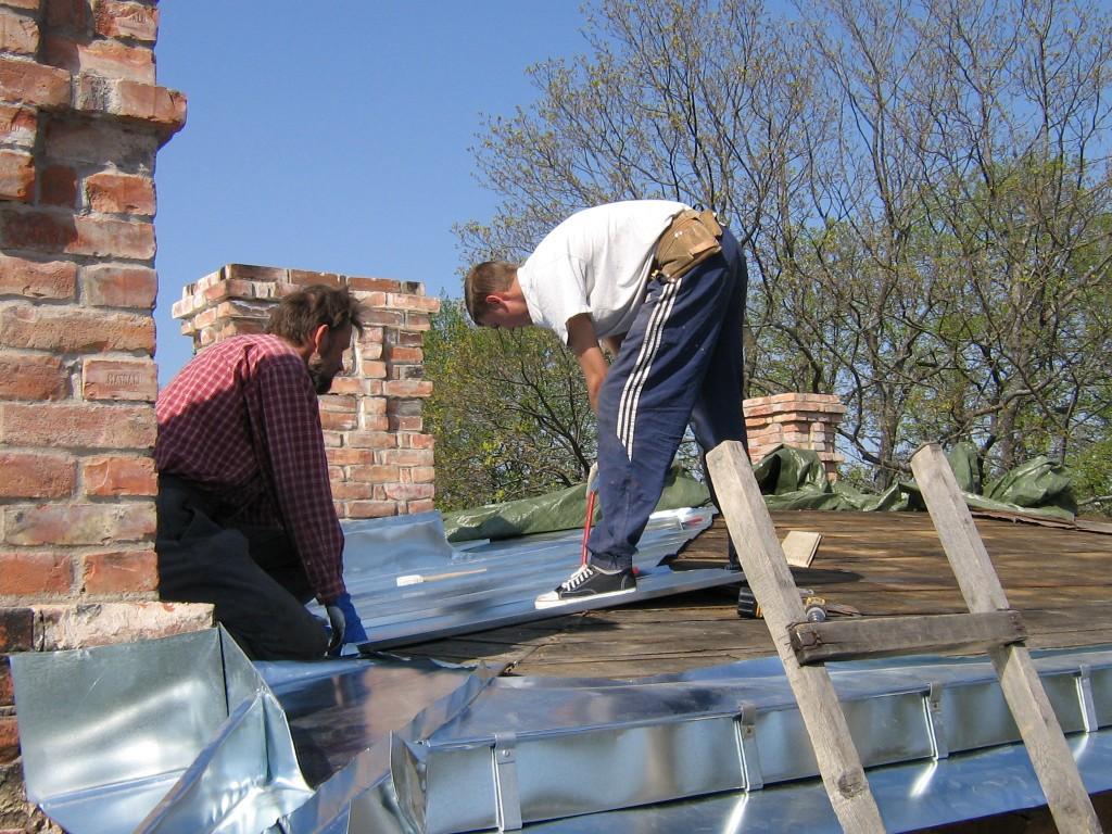 Katusetööd 05.2006 - katusepleki asendamine