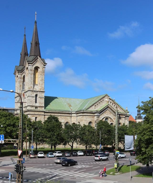 Tallinna Kaarli kirik. August 2017. Foto: Timo Aava