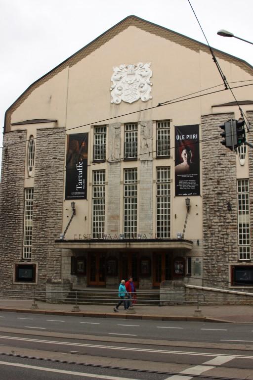 Tallinna Saksa Teatri hoone. 19.09.2017. Foto: Timo Aava
