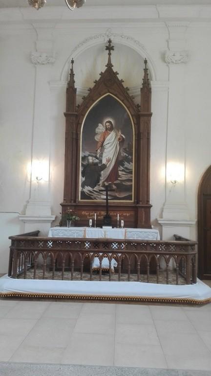 Anna kiriku altar. Foto: K. Klandorf 22.09.2017.