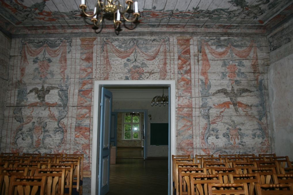 Albu mõisa peahoone - seinamaaling  10.juuni 2009 Kadi Särgava