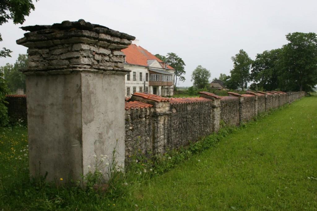 Seidla mõisa pargi piirdemüür  10.juuni 2009 Kadi Särgava