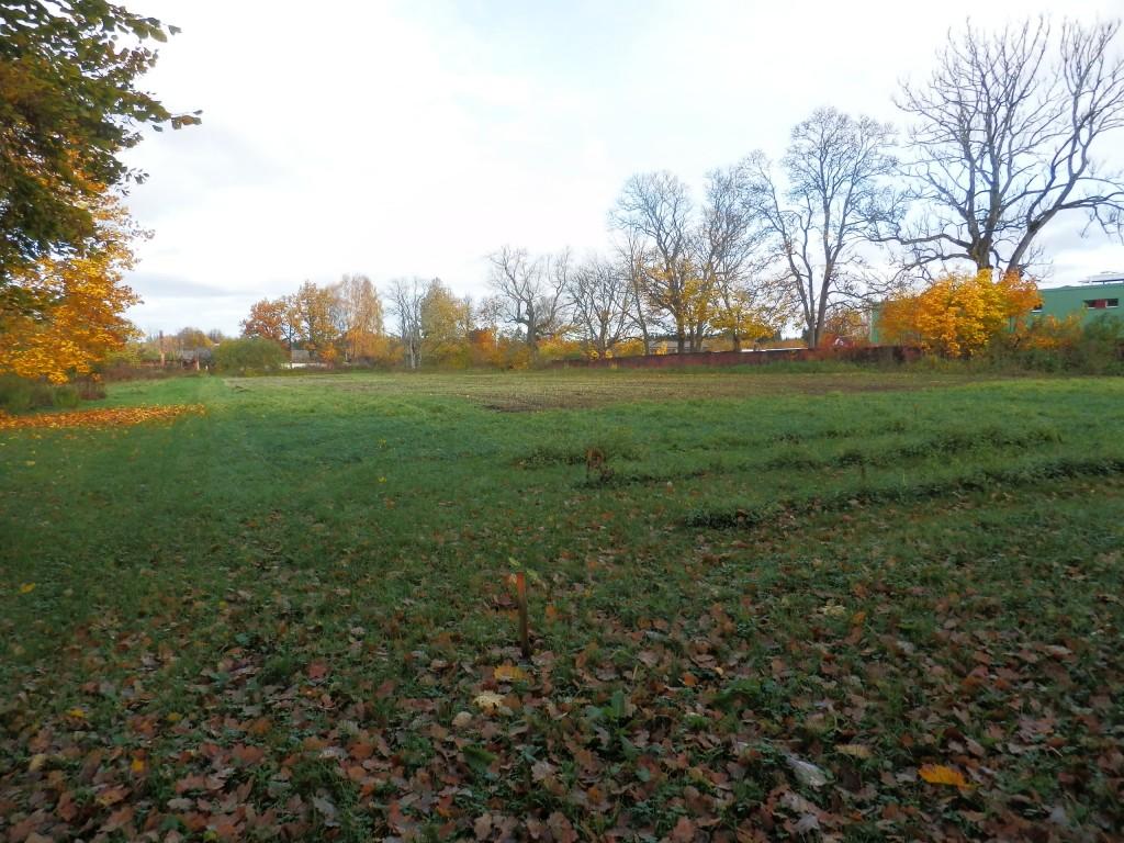 Vaade Polli mõisa aiale ja piirdemüürile Foto Anne Kivi 19.10.2017