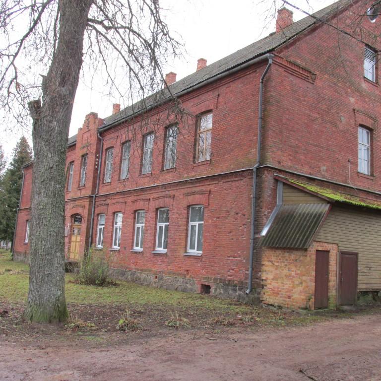 Tsooru (Lepistu) ministeeriumikooli hoone. Foto Mirja Ots, 14.11.2017