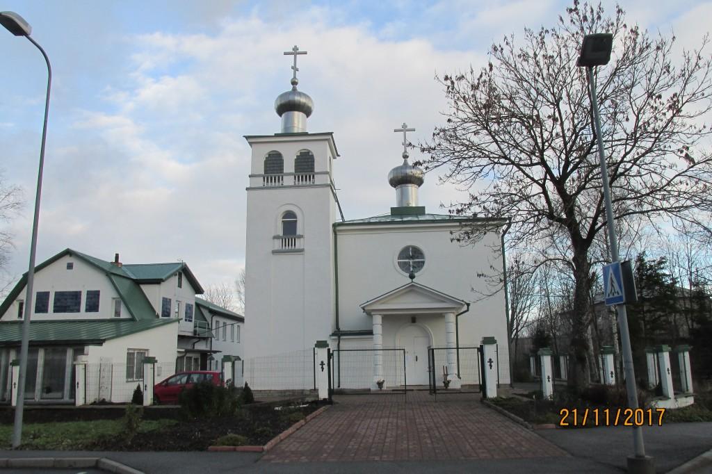 Kohtla-Järve õigeusu kirik, 1938. Foto: Kalle Merilai 21.11.2017.a.