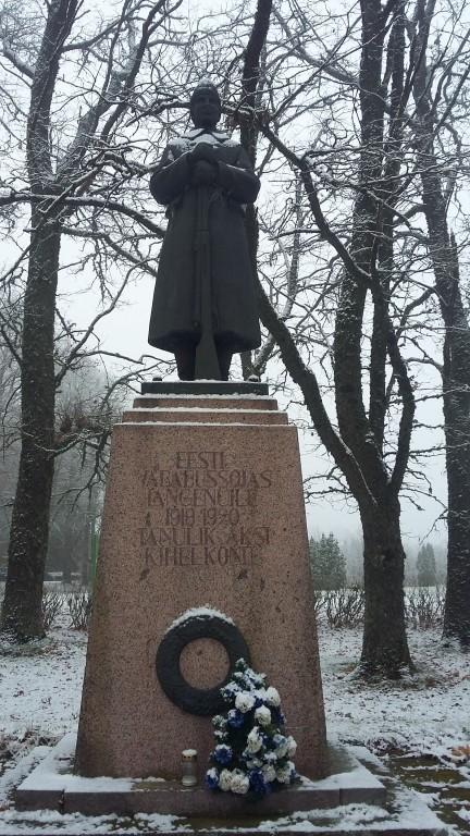 Vabadussõja mälestussammas, eestvaade Autor Sille Raidvere  Kuupäev  22.11.2017