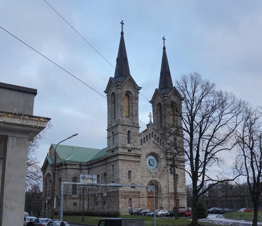 Tallinna Kaarli kirik. Detsember 2017. Foto: Timo Aava