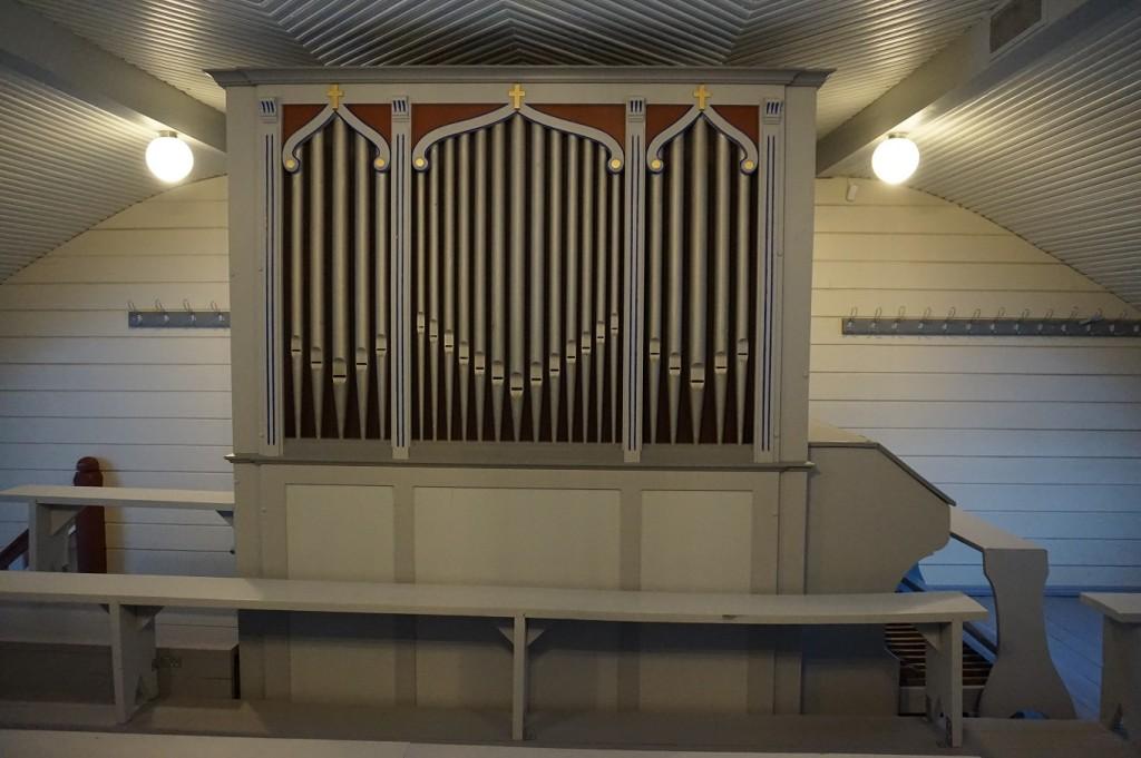 Terkmanni orel kiriku rõdul. Foto: Eero Kangor, 23.01.2018