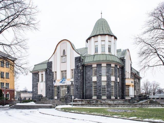 Pärnu mnt 67, vaade Pärnu maanteelt. Foto: Uku Peterson, 2016