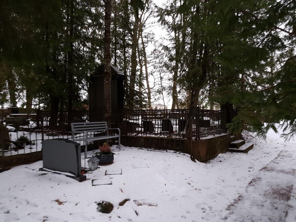 Vaade Kadrina kalmistule. Foto: M.Abel, kp 09.01.18