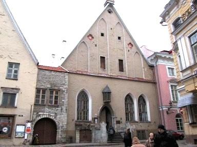 Tallinna Suurgildi hoone ja Börsi käik, 15.-19.saj.