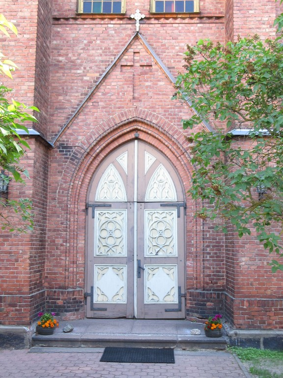Veski 3 katoliku kiriku peauks. Foto Egle Tamm, 29.06.2018.