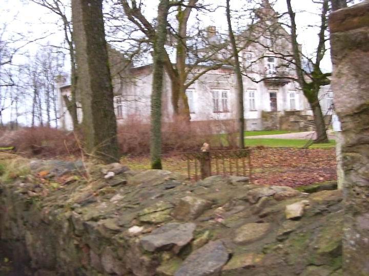 Kiviaia detail. Foto: Lilian Hansar. Kuupäev  08.12.2004