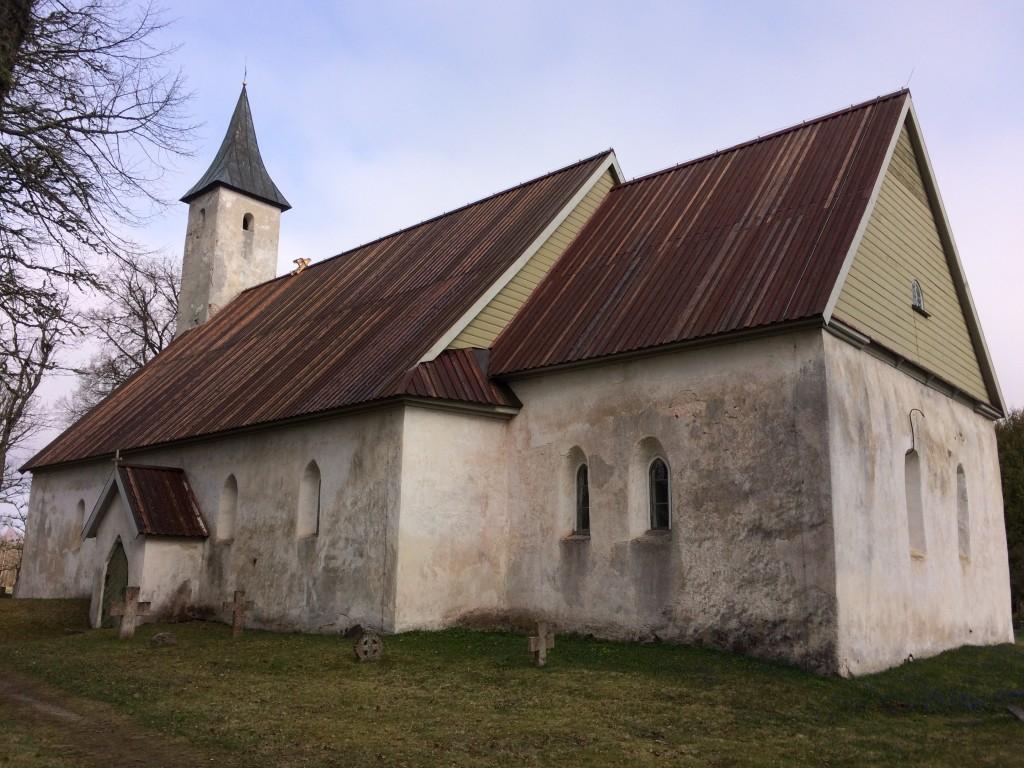Noarootsi kirik. Foto Dan Lukas 30.04.2018