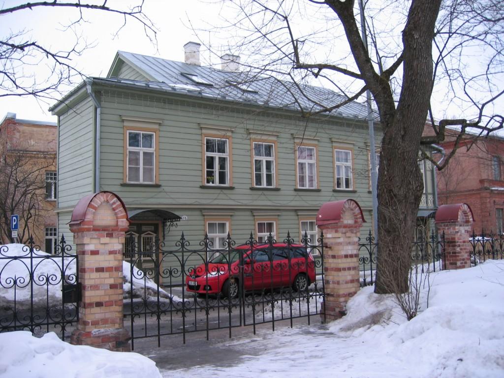 Veski 15 esivaade. Foto Egle Tamm, 10.03.2011.