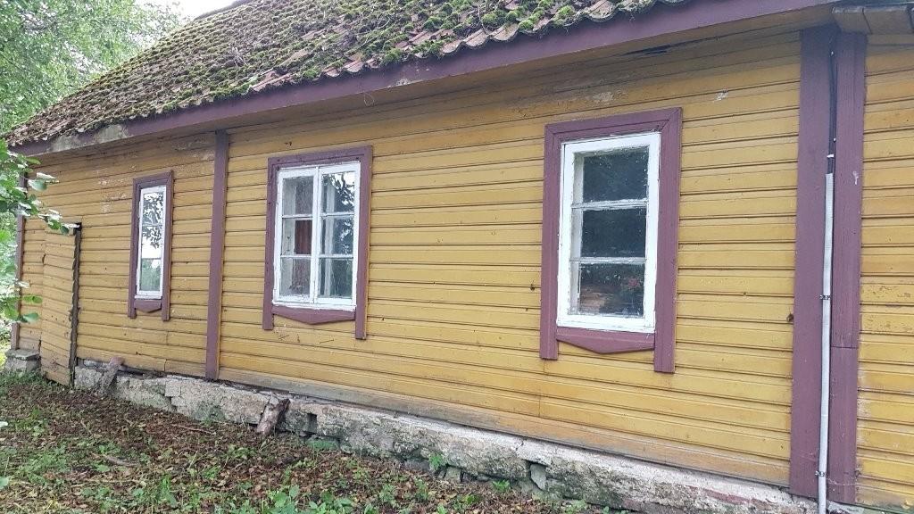 Vaeküla mõisa lindla, vaade põhjast. Foto: M.Abel, kp 10.09.18