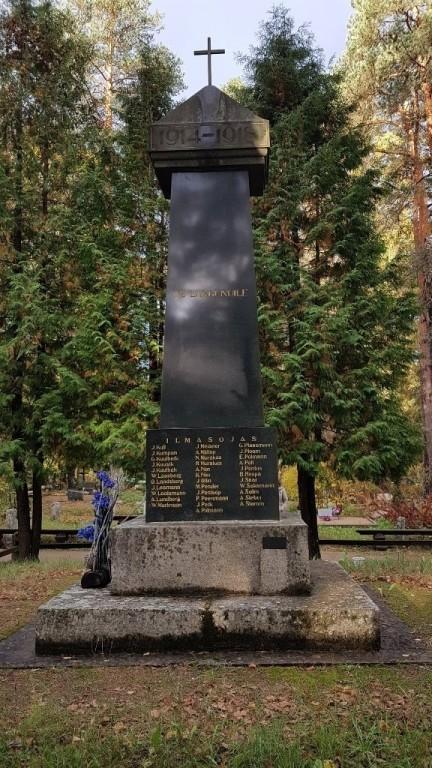 Vabadussõja mälestussammas, vaade idast. Foto: M.Abel, kp 04.10.18