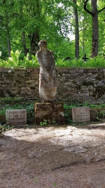 """Skulptuur """"Ennäe inimest"""". Foto: M.Abel, kp 22.05.18"""