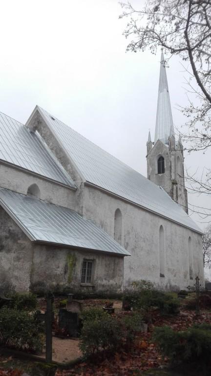 Järva-Jaani kirik. Foto: K. Klandorf 25.10.2018.