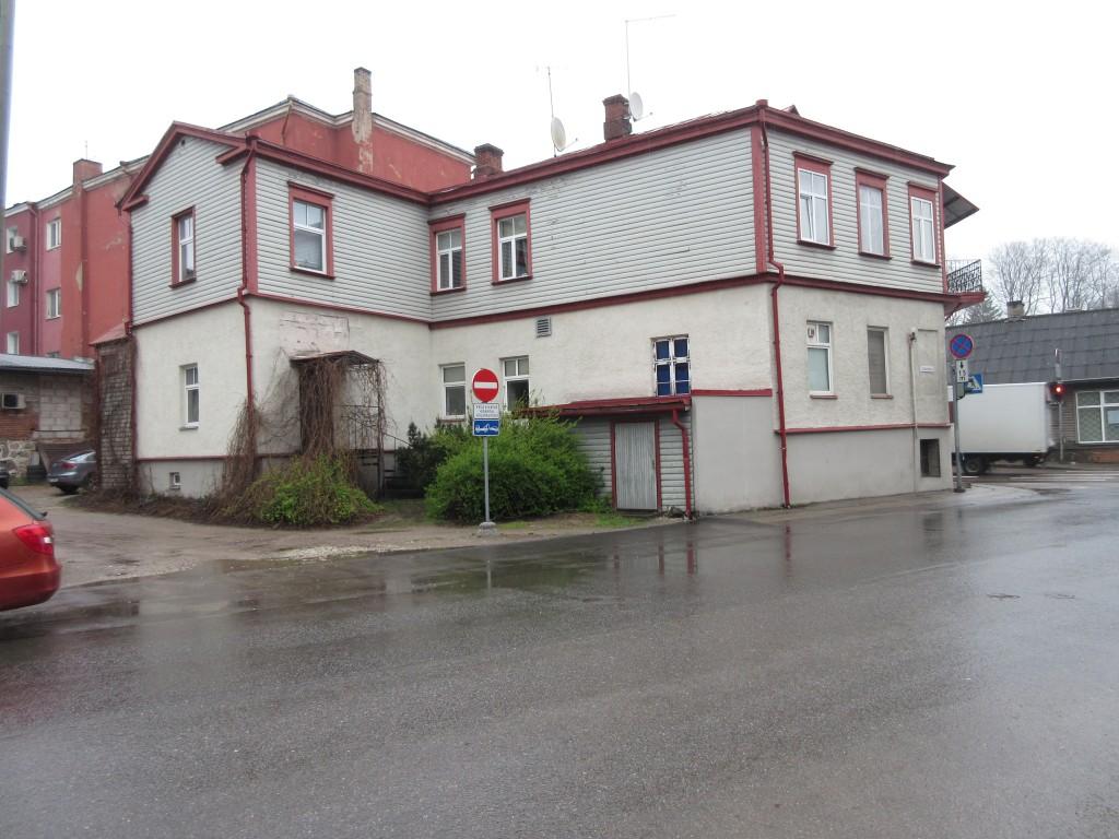 Narva mnt 88 Staadioni tänava poolt. Foto Egle Tamm, 26.04.2016.