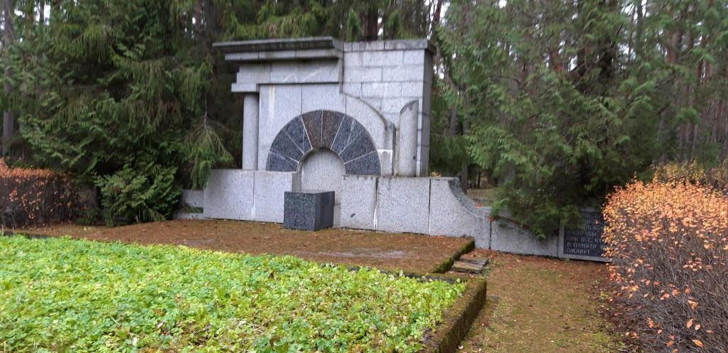Terroriohvrite matmispaiga monument (ajaloomälestis reg-nr 1110). Foto: K. Tael 6.11.2018