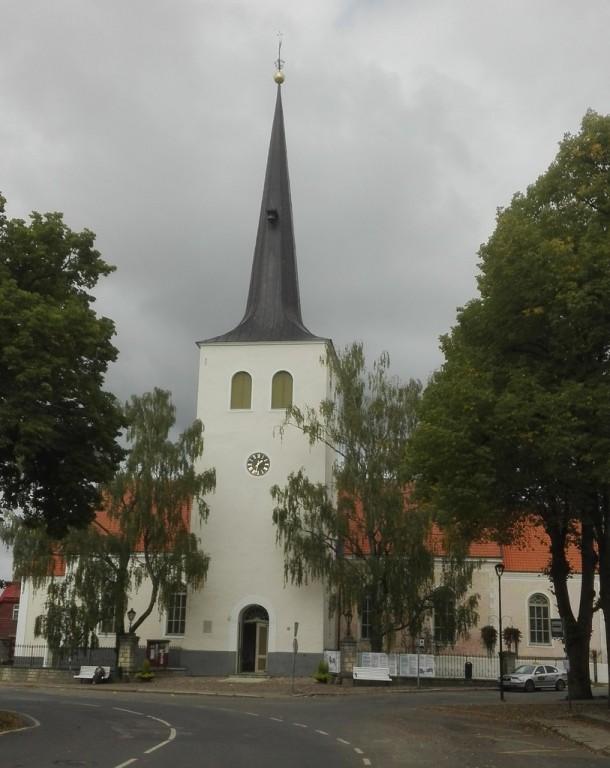 Paide kiriku vaade lõunast. Foto: K. Klandorf 30.08.2018.