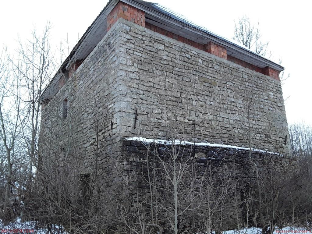 Vao mõisa magasiait. Foto: Raili Uustalu 30.12.2018. Vaade hoonele loodest.