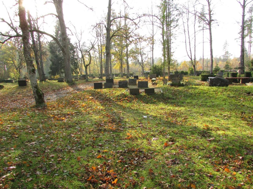 Lümanda kalmistu. Foto: Keidi Saks, 17.10.2018