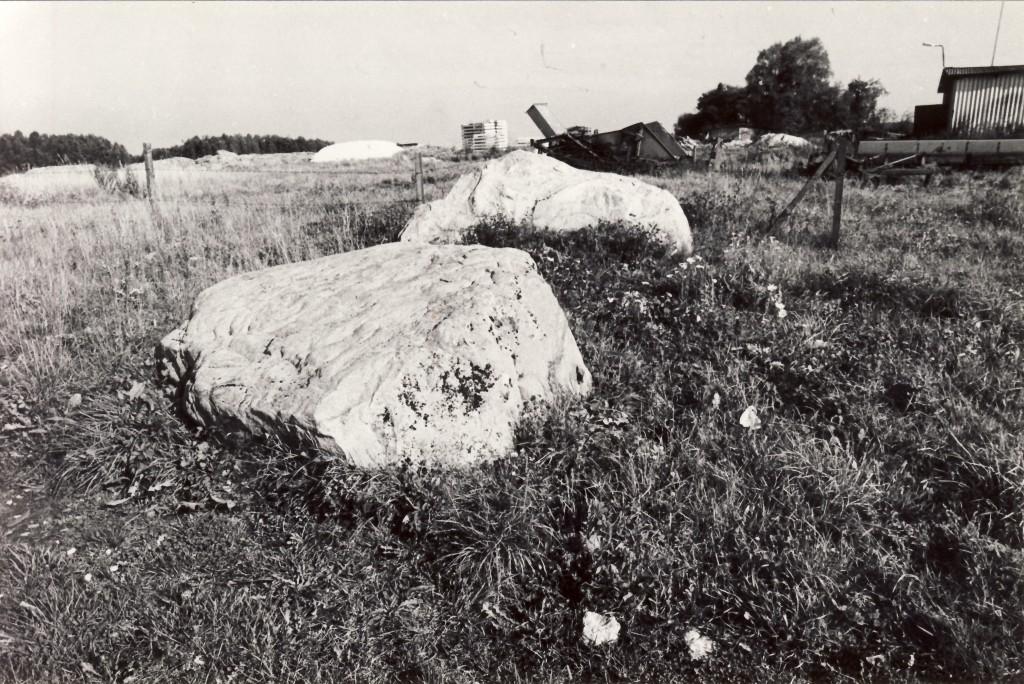Vaade kivile lõunast. Foto: Enno Väljal, 17.09.1984