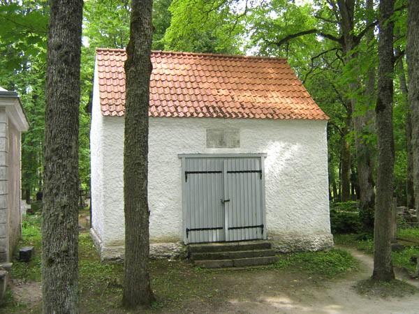 Kudjape kalmistu Schmidti kabel. Foto: Rita Peirumaa 01.07.2009