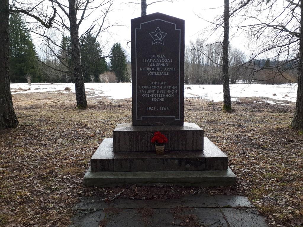 II maailmasõjas hukkunute ühishaud. Foto Margis Sein 19.03.2019