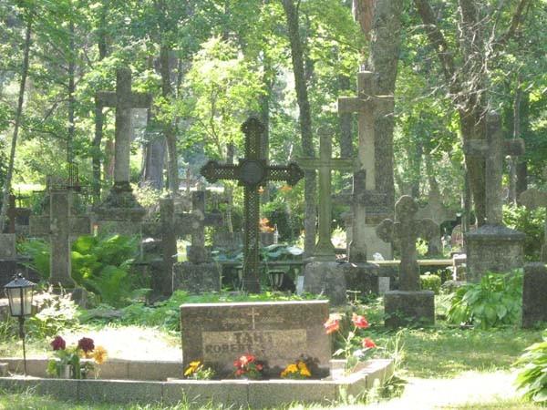 Anseküla kalmistu. Foto: Mihkel Koppel. Kuupäev: juuli 2009