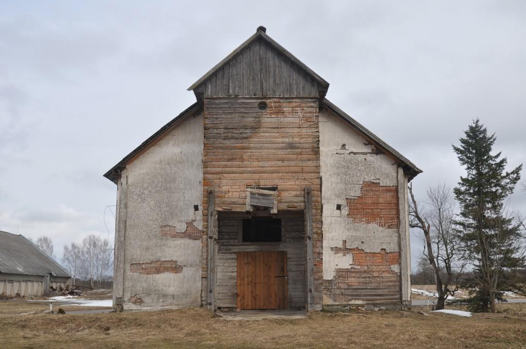 Tudulinna vana kirik, 1766-1863. Vaade läänest. Foto: Kalle Merilai 19.03.2019