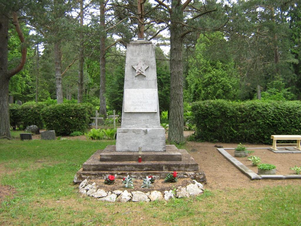 II maailmasõjas hukkunute ühishaud, reg. nr 5762. Foto: M.Abel, kuupäev 11.09.2009