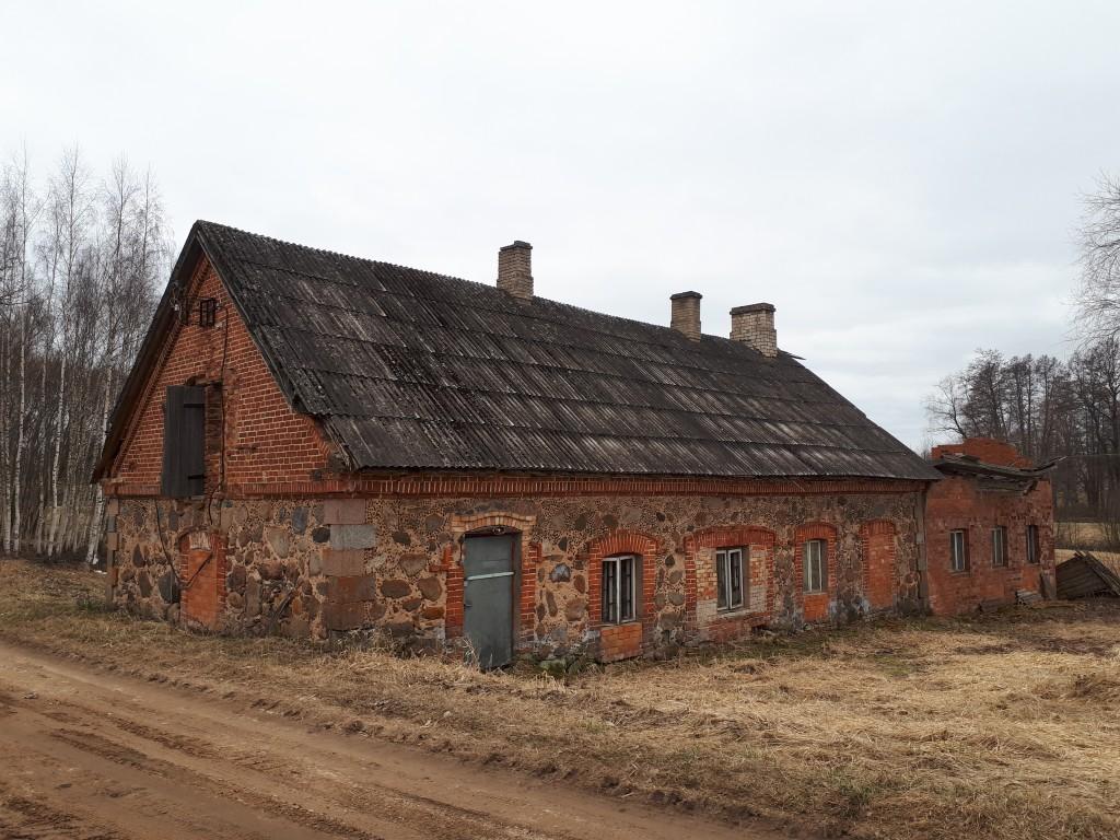 Kaagjärve-Alamõisa saun. Vaade kirdest. Foto Margis Sein 11.04.2019.