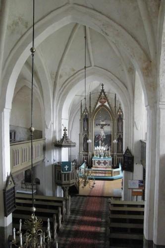 Sisevaade Nõo kirikus O suunas. Ü.Jukk 15.07.2009