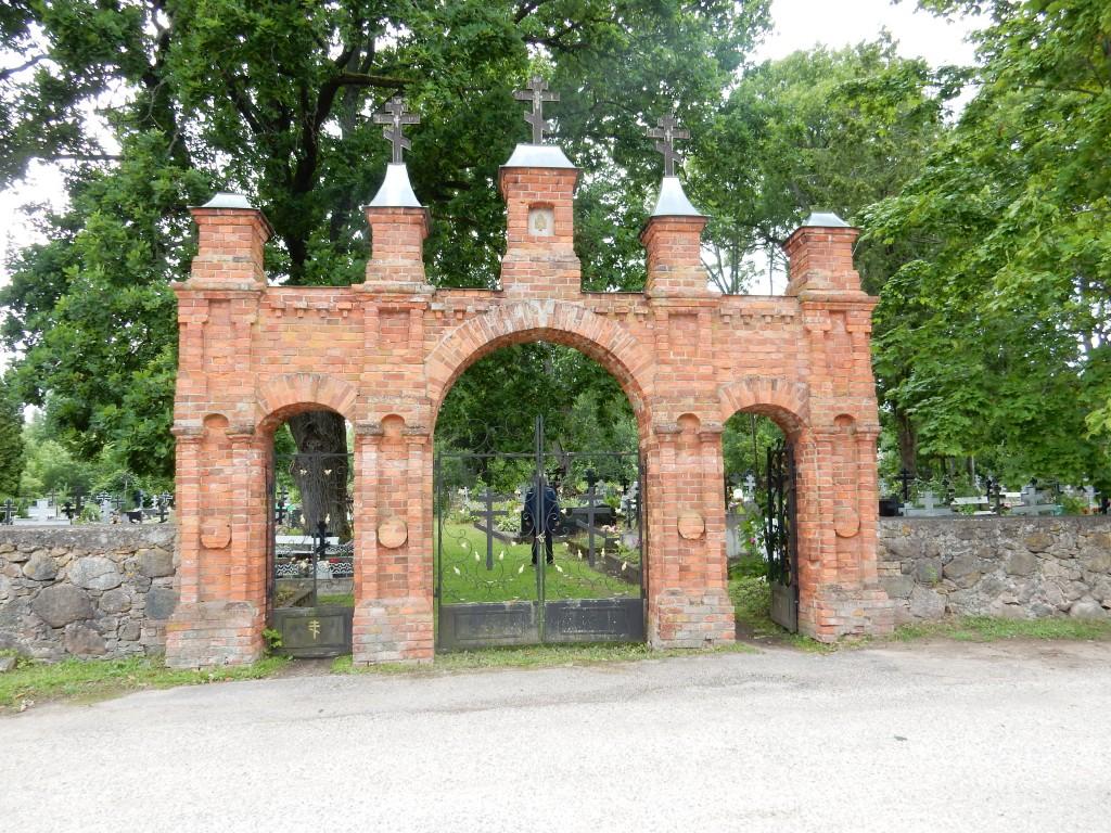 Kolkja kalmistu värav. Foto autor: I. Raudvassar 09.07.2019