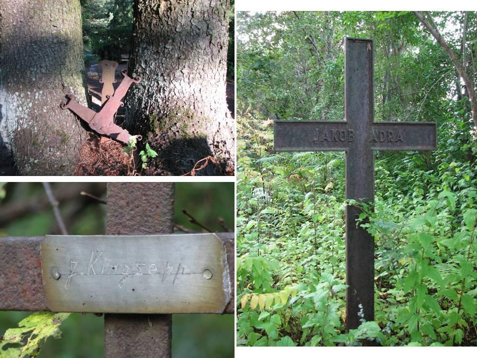 Haljala kalmistu, reg. nr 5760. Vaateid kalmistu ristidele. Foto: M.Abel, kuupäev 11.09.2009