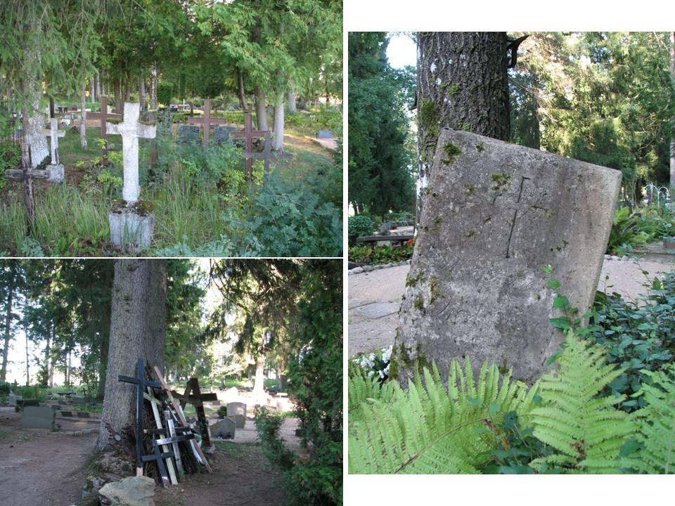 Haljala kalmistu, reg. nr 5760. Üldvaateid kalmistult. Foto: M.Abel, kuupäev 11.09.2009