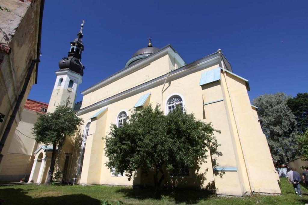 Issandamuutmise kiriku S-fassaad. Foto: Eero Kangor, 28.06.2019
