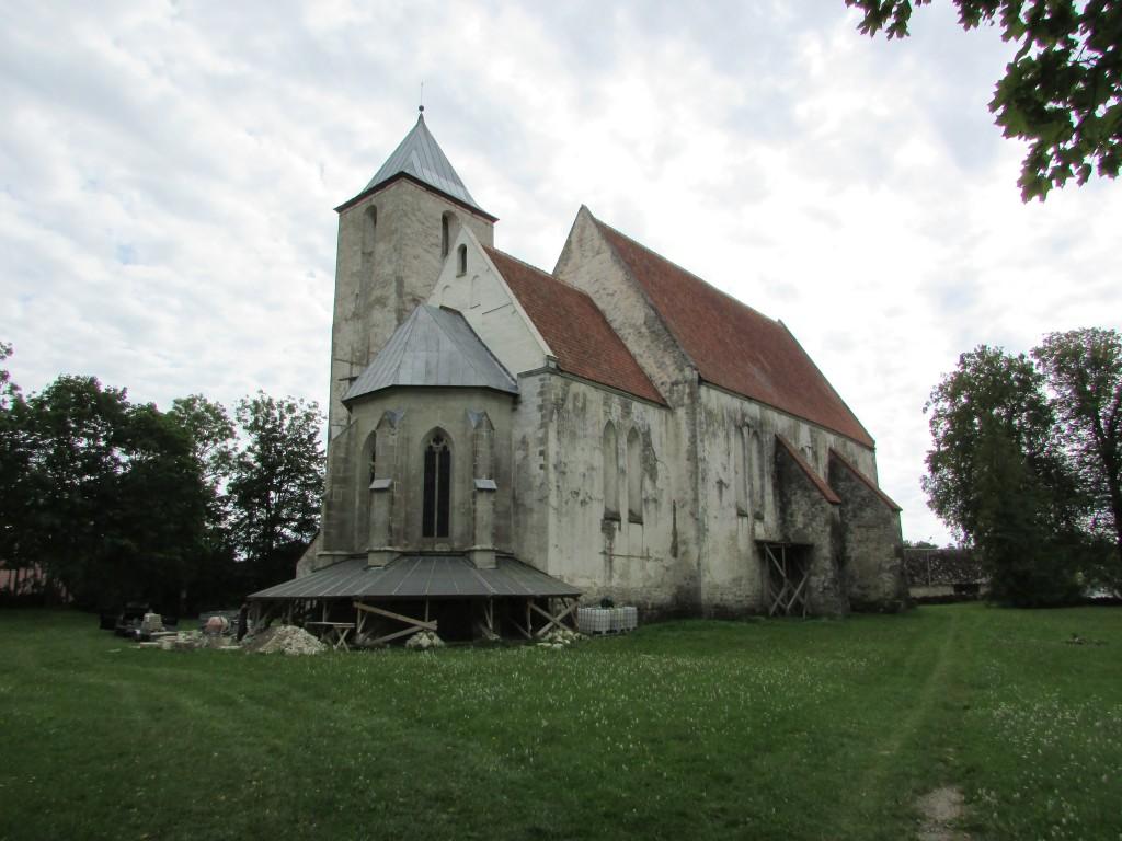 Valjala kirik, 29.07.2019. Foto: Keidi Saks