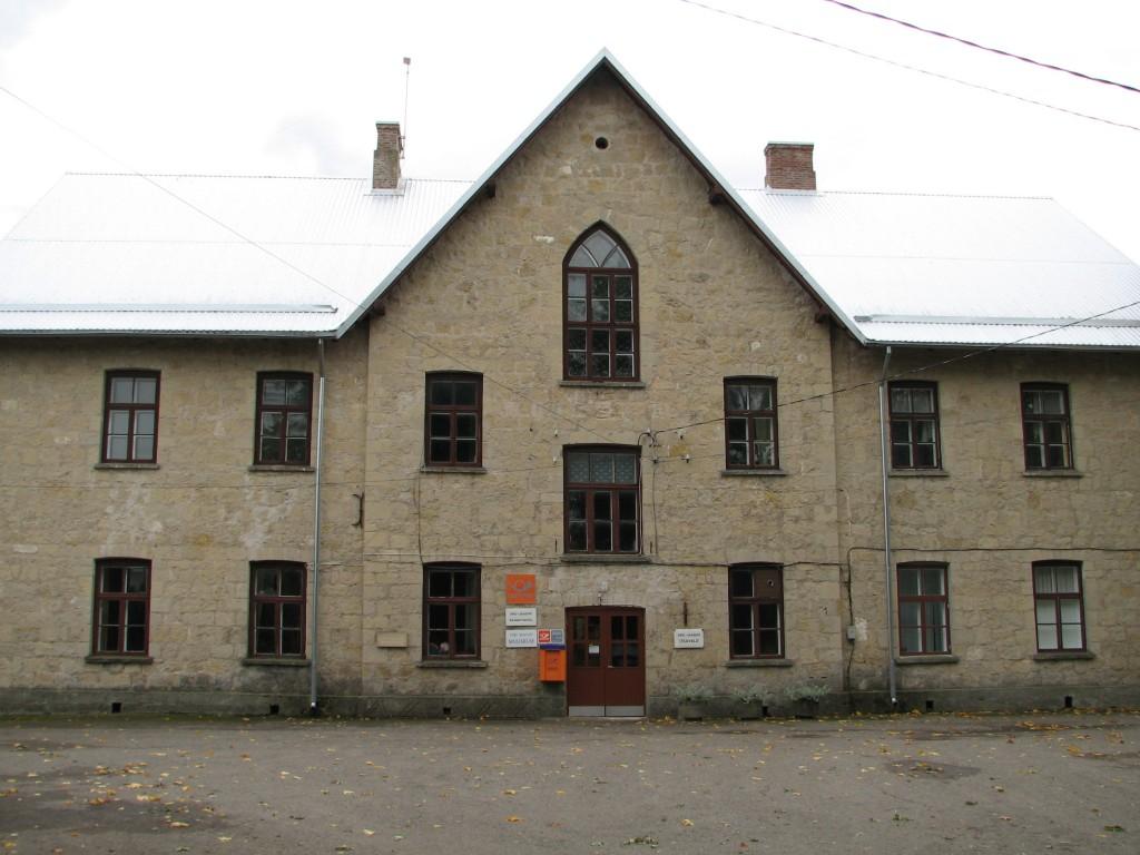 Viru-Jaagupi Noorsoo Kasvatuse Seltsi kooli hoone, reg. nr 5805. Vaade hoone esifassaadile. Foto: M.Abel, kuupäev 25.09.2009