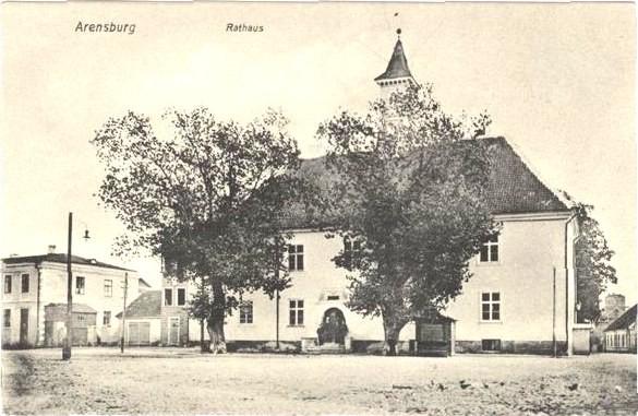 Raekoda 20. saj. alguses, postkaart.