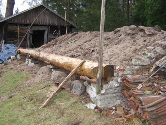 Kaarli talu kelder : keldri remonttööd pooleli Autor Anne Kaldam  Kuupäev  08.09.2009